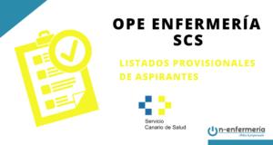 OPE ENFERMERIA SCS