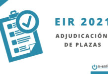 adjudicación plazas eir 2021