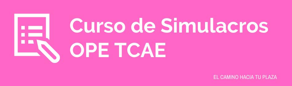 curso de simulacros ope tcae