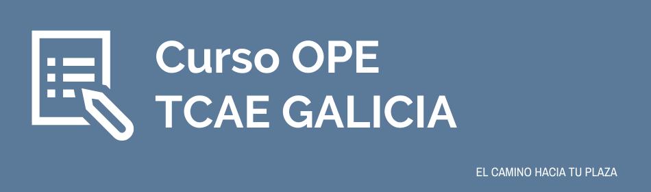 curso ope tcae galicia