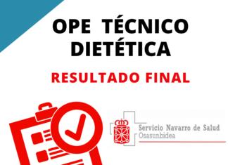 OPE Técnico Dietética Navarra