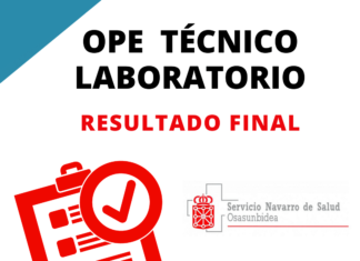 técnico laboratorio navarra