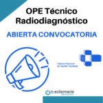convocatoria ope técnico radiodiagnóstico ingesa