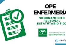 Nombramiento OPE Enfermeria SAS