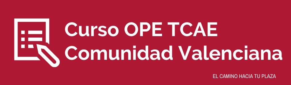 curso ope tcae comunidad valenciana