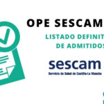 Listado admitidos SESCAM 2020- FB