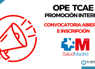 convocatoria ope tcae sermas madrid promocion interna