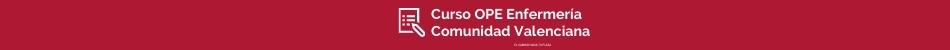 Pie de página curso OPE Enfermería Comunidad Valenciana