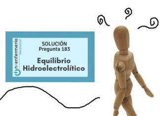 solución pregunta ope enfermería equilibrio hidroelectrolítico simulacros on enfermería