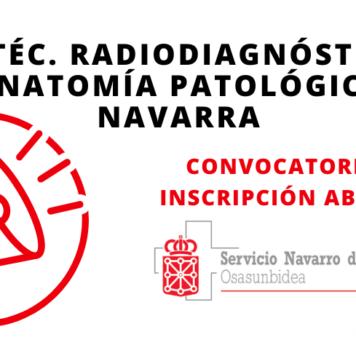 Convocatoria Radiodiagnóstico y Anatomía Patológica Navarra 2019
