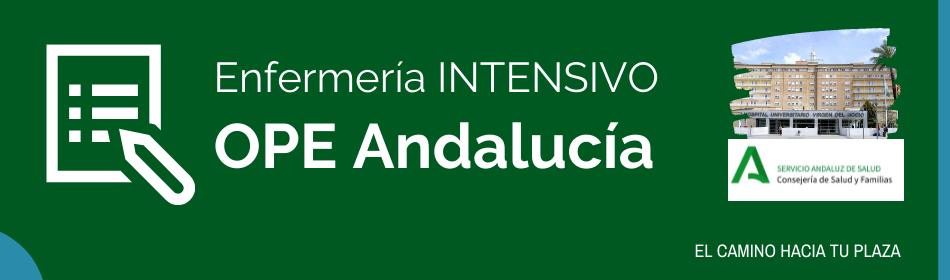 intensivo ope enfermeria andalucia