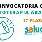 convocatoria fisioterapia Aragón